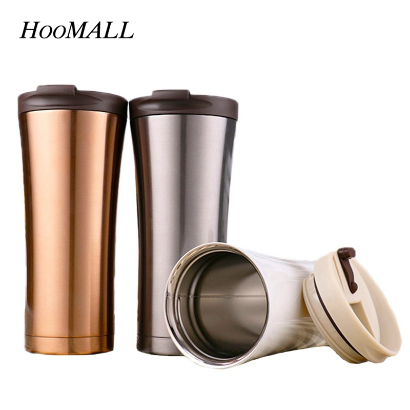 Aliexpress.com : Buy Hoomall 500ml Stainless Steel Thermos ...