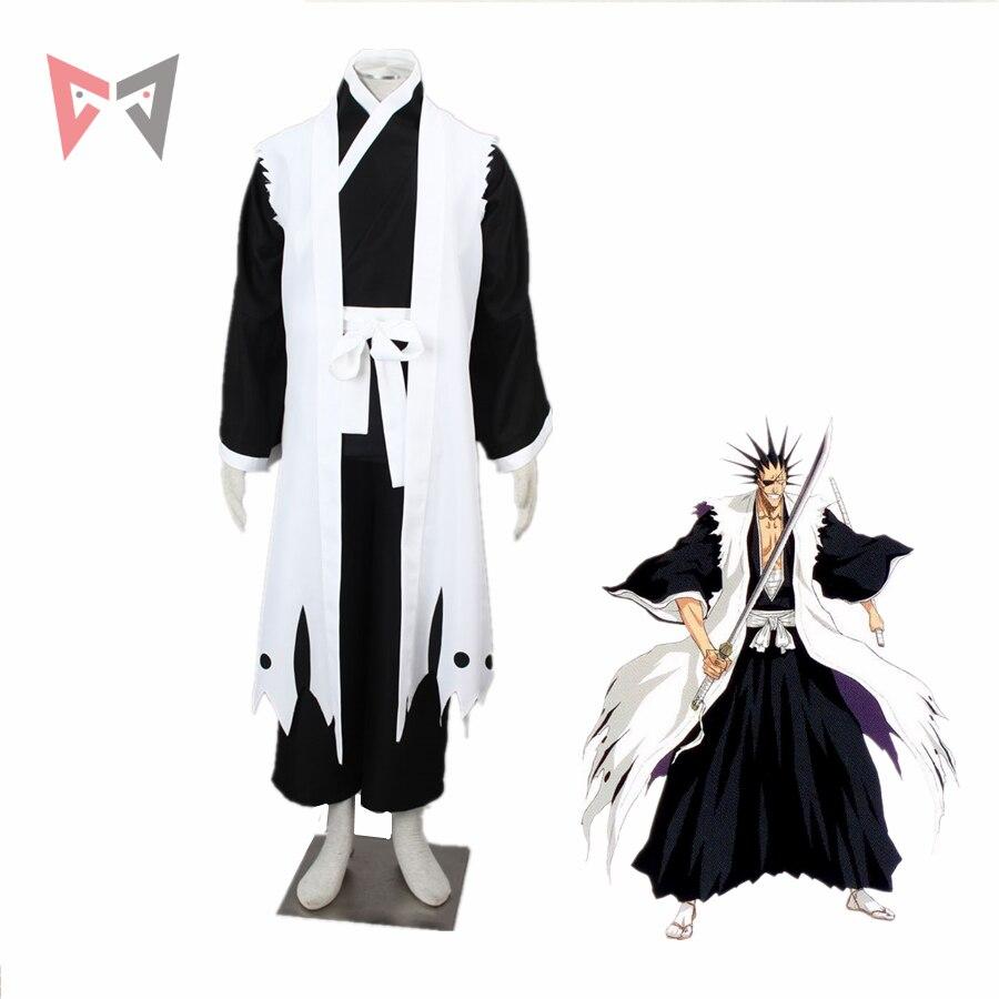 MMGG Bleach cosplay Kenpachi Zaraki Cosplay costume Kimono Outfit