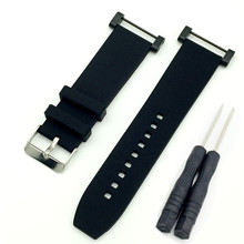 Watchbands Hot sale 2018Luxury Rubber Watch Replacement Band Strap + Adapters For Suunto Core Straps watchbands