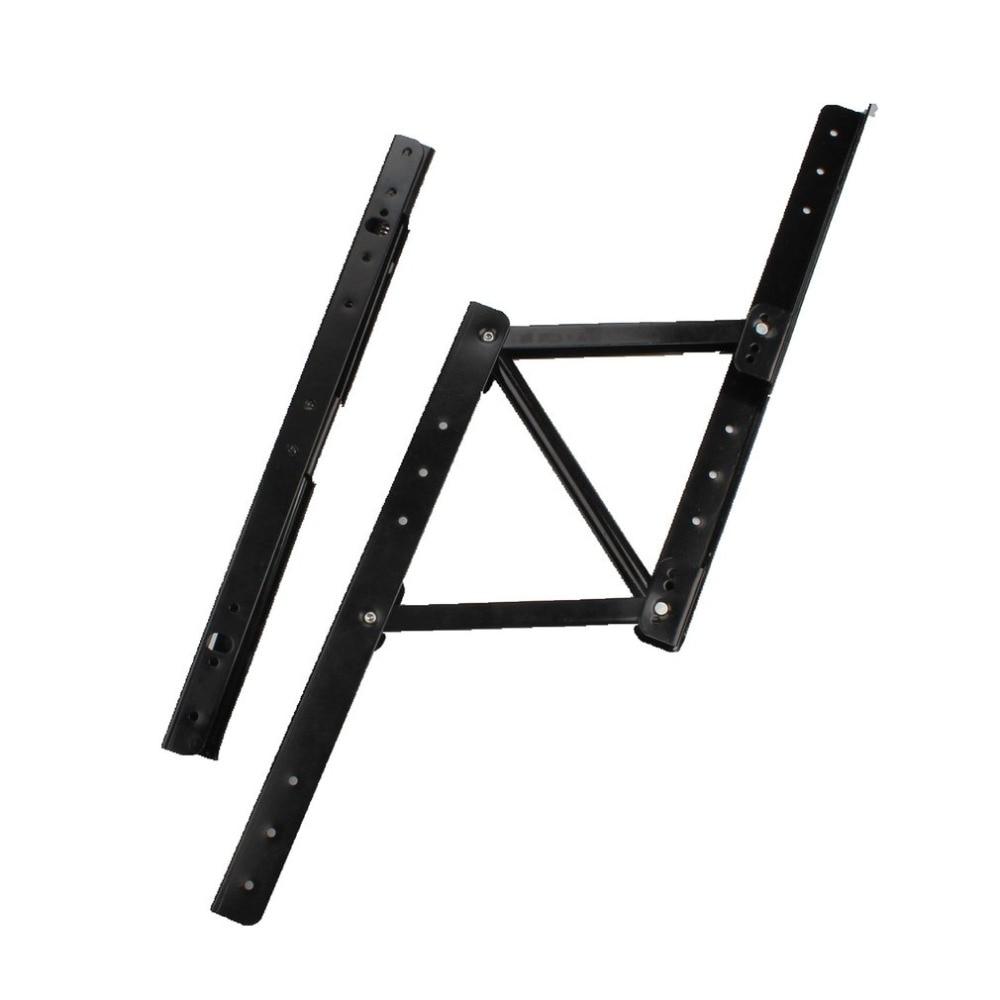Lift Up Top Kaffee Tisch Heben Rahmen Mechanismus Scharnier Hardware Fitting Mit Frühling Folding Standing Schreibtisch Rahmen Möbel