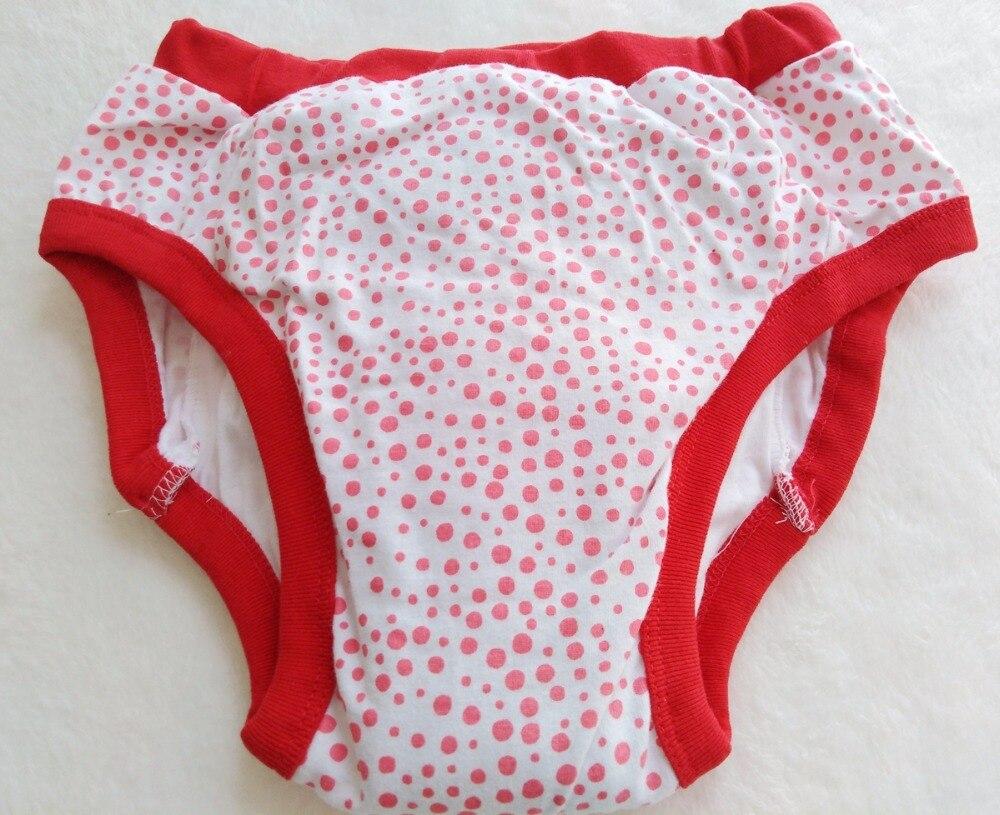 Gerade Erwachsene Gedruckt Red Dot Trainning Hosen/erwachsene Baby Kurze Mit Polsterung Im Inneren/abdl Trainning Hose/waschbar Erwachsene Trainning Hose