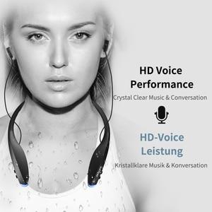 Image 5 - קנאי H7 Bluetooth ספורט אוזניות עם מגנט עמיד למים אלחוטי אוזניות Neckband אוזניות עם מיקרופון עבור iPhone אנדרואיד