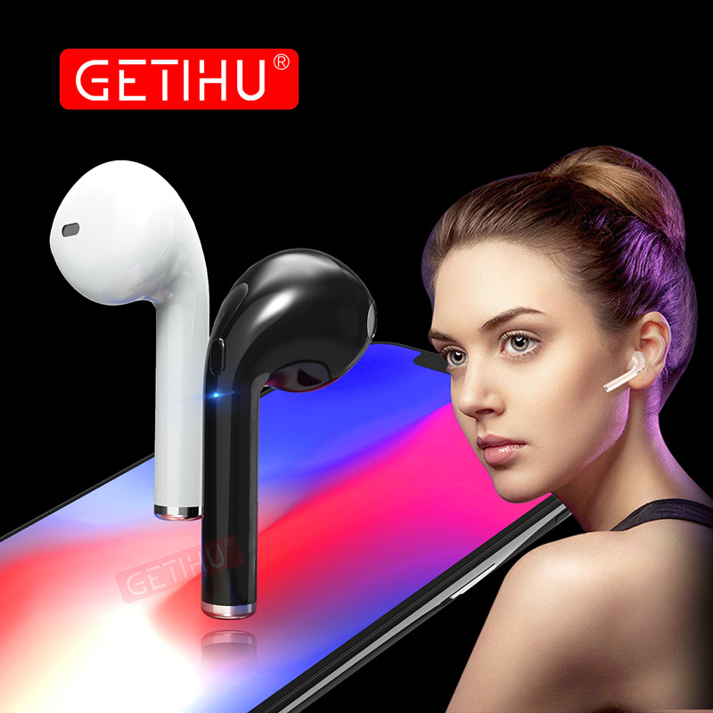 Bluetooth Earphone Headphones Phone Sport Headset in Ear Buds Wireless Mini Earphones Headphone Earpiece For iPhone 6 7 8 stereo skhifio bluetooth earphone wireless headphone with mic stereo in ear sport headset earbuds music earphones for phone iphone