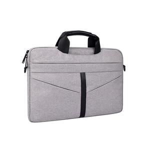 Image 4 - Universal Laptop Bag 13 14 15 inch Notebook Bag Laptop Messenger Computer Shoulder Bag Briefcase Case Cover for Macbook HP DELL