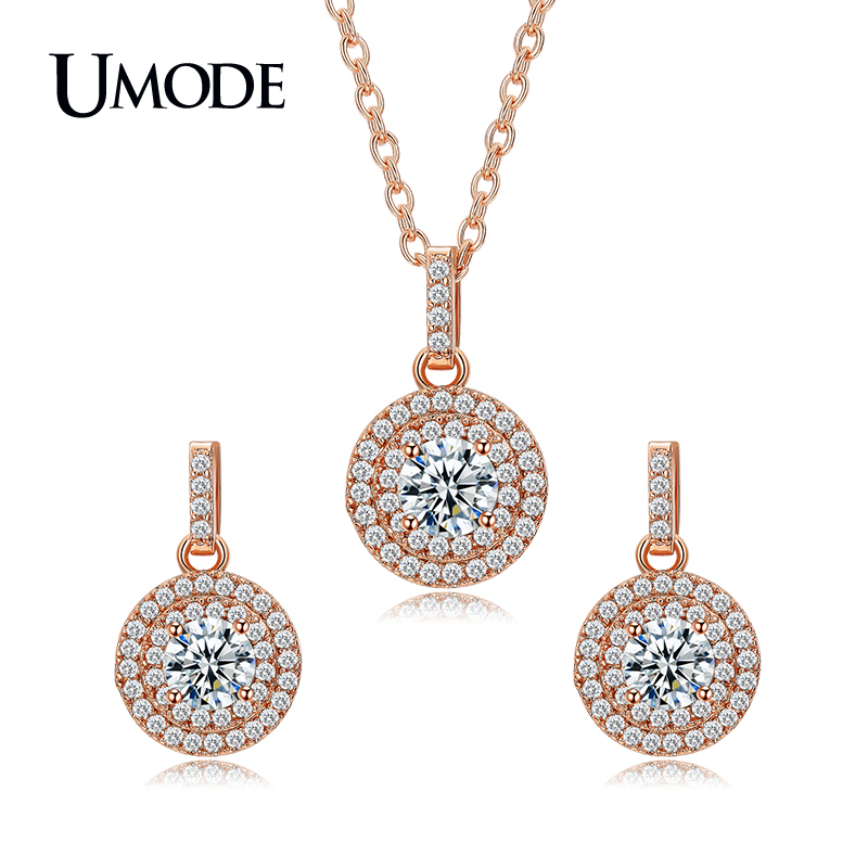 UMODE Rose Gold Color Halo...
