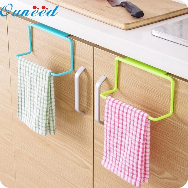 Home Wider Towel Rack Hanging Holder Organizer Bathroom Kitchen Cabinet Cupboard Hanger Drop Shipping High Quality Drop Shipping