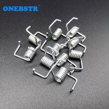 10 개/몫 피팅 6mm 10mm 벨트 비틀림 스프링 타이밍 벨트 잠금 장력 강한 스프링 일치 3D 프린터 부품 무료 배송