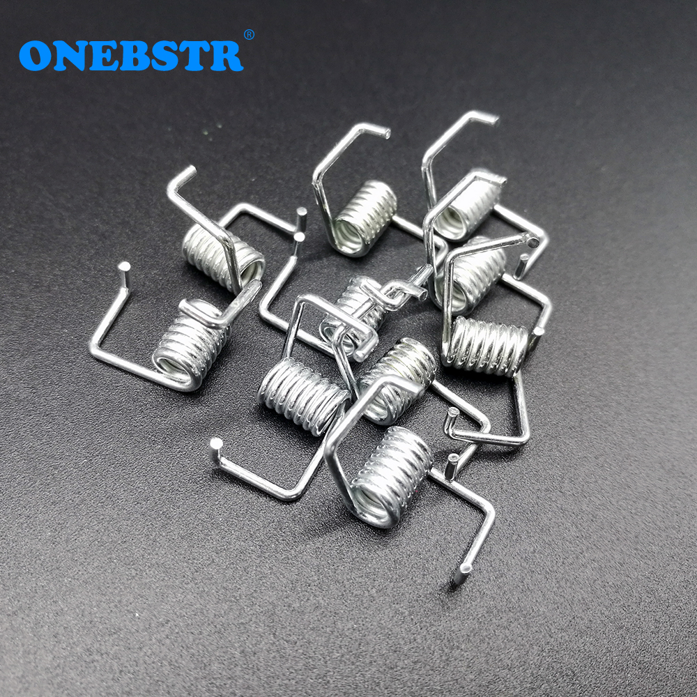 10pcs/lot Fitting 6mm Belt Torsion Spring Timing Belt Locking Spring Tension Strong Spring Match 3D Printer Parts Free Shipping