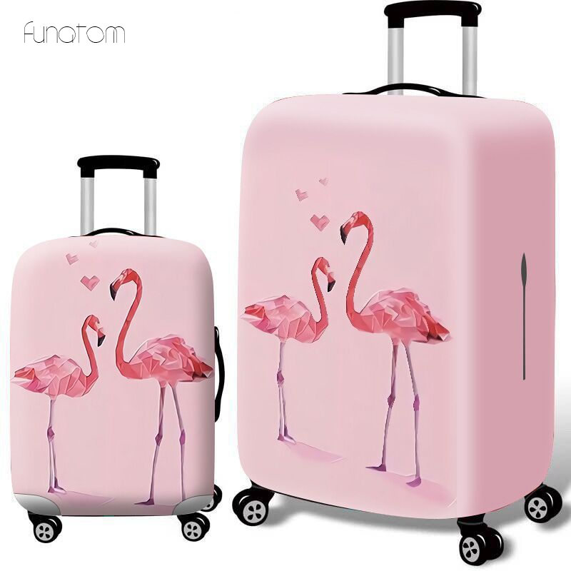 Cartoon Luggage Cover Suitcase Elastic Protective Covers 18-32 Inch Trolley Trunk Dust Case Cover Travel Accessories