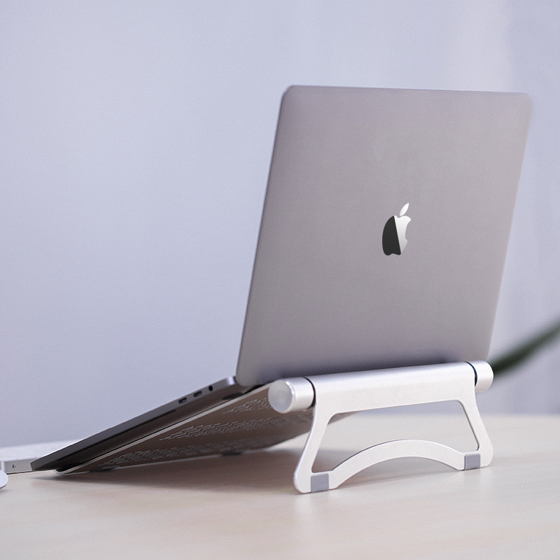 Portable 11 To 17 Inch Laptop Aluminum Alloy Folding Stand Holder For Macbook Lenovo Dell HP Asus Notebook Cooling Bracket