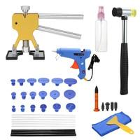 Paintless Dent Repair Tools Car Dent Repair Puller Removing Dents Dent Removal Hand Tool Set Choose Hot Melt Glue Gun