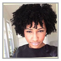 Short Afro Kinky Curly WigCurly Wigs for Black Women Black Hair Wig African American Synthetic Cheap Wigs for Wig For Black Wome