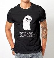 Più nuovo 2017 Uomini di Modo Undertale Gioco Citazione T Shirt Uomo Tee T Shirt di Cotone Slogan Su Misura Camicie Per Uomo
