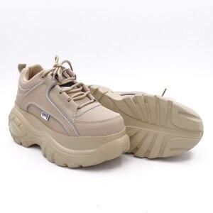 Image 4 - COMFABEA zapatos de mujer 2019 Casual zapatos de plataforma para mujer Zapatillas de invierno zapatos de mujer gruesa suela Creepers calzado deportivo