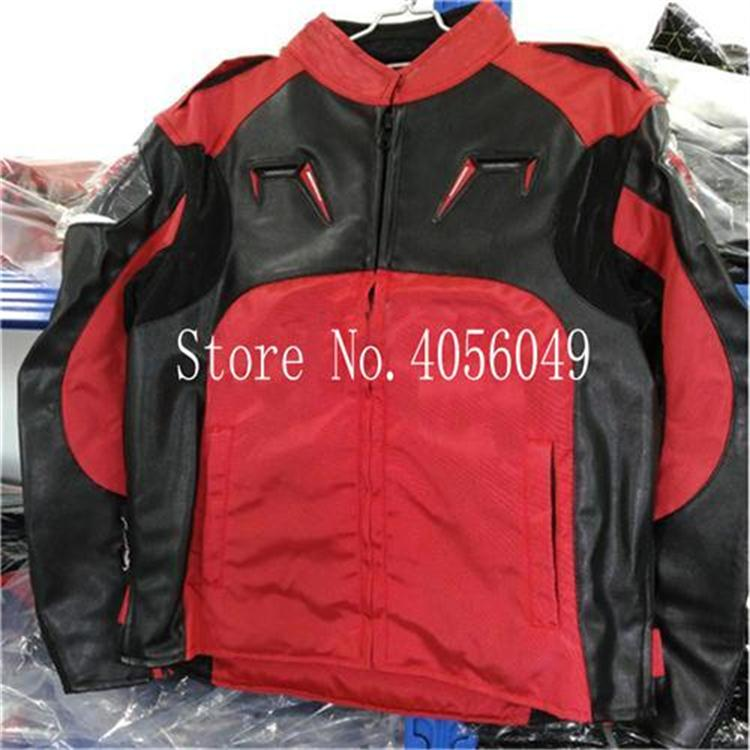 New A stars racing suit suit men and women PU jacket motorcycle riding suit motorcycle anti fall four seasons waterproof jaqueta in Jackets from Automobiles Motorcycles