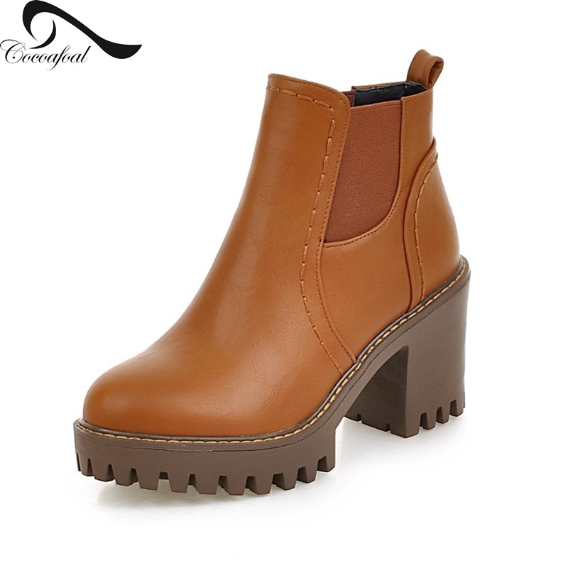 ФОТО Leisure style New season 2017 Latest fashion comfort Women boots Europe United States daily style Hot new Super size Women shoes