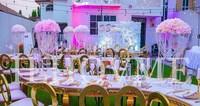10PCS/Lot 68CM Tall Crystal Acrylic Wedding Centerpiece/Acrylic Wedding Cake Stand/Flower Stand/Wedding Pillar Table Decoration