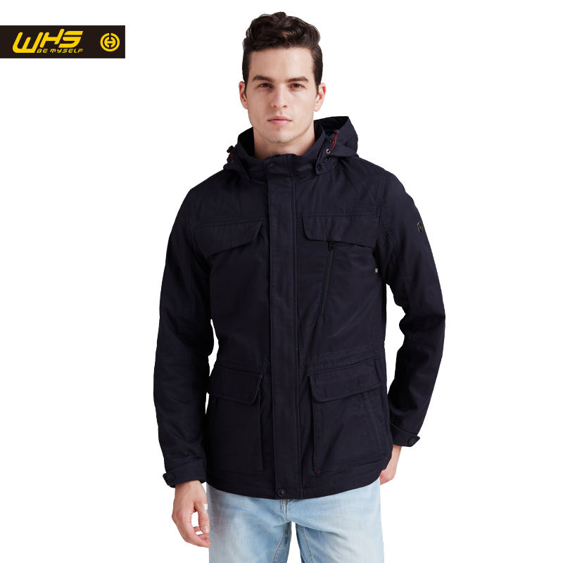 WHS New spring Autumn men thin cotton Jacket Outdoor sport Coat male warm clothes Camping High Quality coats mens Warm jackets pioneer camp new mens jackets coat brand clothing casual bomber jacket men fashion quality solid outerwear coats male ajk801051