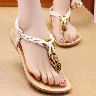 444644142 2015 New Fashion Shoes summer sandals for women plus size 39 40 beach  sandles brand casual leather flat shoes online shopping-in Women s Sandals  from Shoes ...