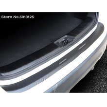 Car Outside Exterior Interior Rearguards Rear bumper Trunk Trim Bumper Pedal For Mitsubishi Outlander 2019 Accessories