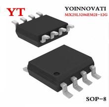 50 sztuk/partia MX25L3206EM2I 12G SOP 8 MX25L3206EM2I MX25L3206E MX25L3206 25L3206E 25L3206 IC FLASH 32mb pamięci 86MHZ 8SOP
