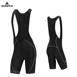 MILOTO велосипедные шорты Для мужчин MTB дороги велосипед одежда противоскольжения лайкры высокие эластичные Велоспорт дышащий гель площадку