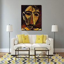 Pablo Picasso African Masks Wall Art Canvas Painting Posters Prints Modern Picture For Living Room Home Decoration