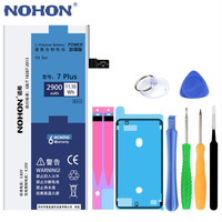 High Quality Original NOHON Battery For iPhone 7Plus Replacement Batteries Real 2900mAh Free Tools Retail Package