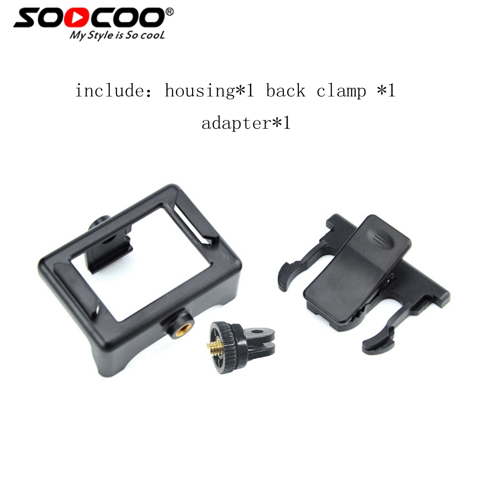Sports Camera Accessories Quick Clip Waist Bike Mount For SJCAM SOOCOO EKEN H9/H9R F60 Action Camera Mount