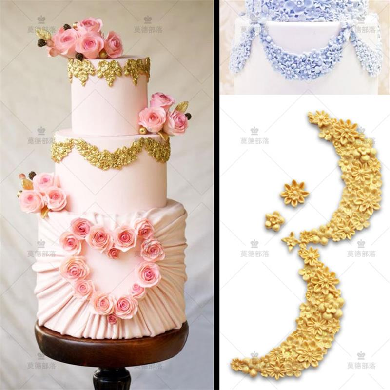 Cake Decoration Molds : DIY Flower silicone mold fondant molds cake decoration ...