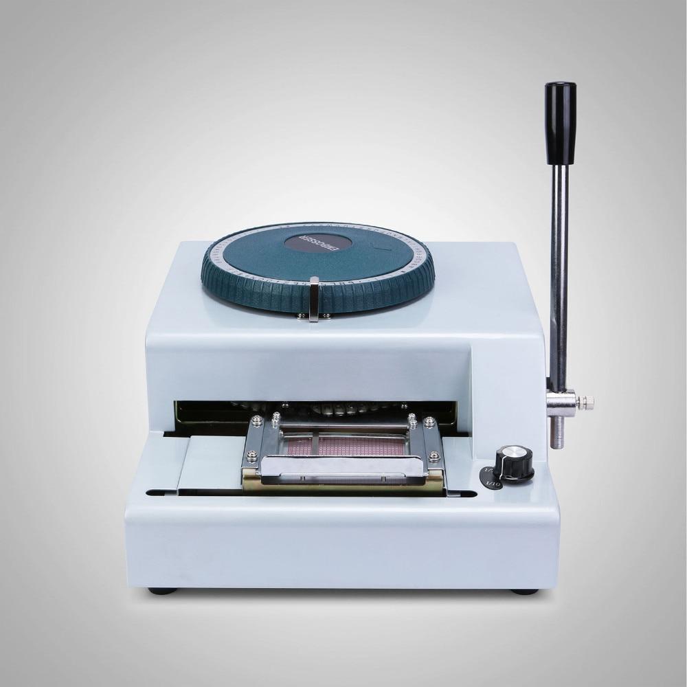 metal embosser machine