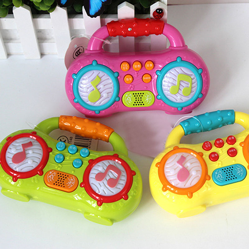 1pc Mini Baby Toys Learning Machine Toy With Music & Learning Stories Educational Toy Musical Instrument For Toddler 6 Month+