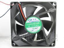 Free shipping.0.08 the new original TX8025L12S 12 v 8025 8 cm super quiet cooling fan