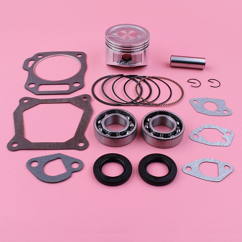 68mm Piston Ring Crank Bearing Oil Seal Gasket Kit For Honda GX160 5 5HP GX 160 168F 4 Stroke Engine Motor Parts