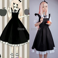 Vocaloid Megurine Luka Meidofuku Maid Dress Uniform Outfit Anime Cosplay Costumes