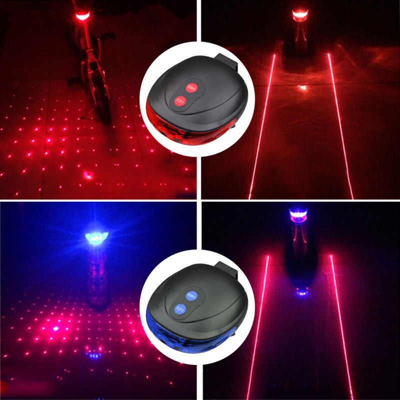 5LED + 2 лазера Горный Дорожный велосипед свет лазера велотренажёр безопасности предупреждающий сигнал поворота лампы 7 модель внимание MDJ998