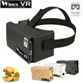 "Winex VR Google Cardboard 2.0 Virtual Reality Ultra Clear VR 3D Glasses VR BOX BOBO Z4 for 3.5-6"" Smart Phone with High Quality"