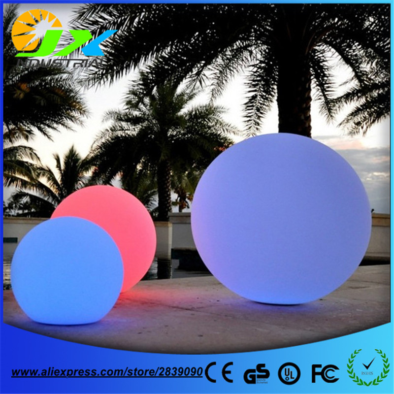 Free shipping Diameter 20cm Rechargeable battery powered led round ball light lamp 6 5ft diameter inflatable beach ball helium balloon for advertisement