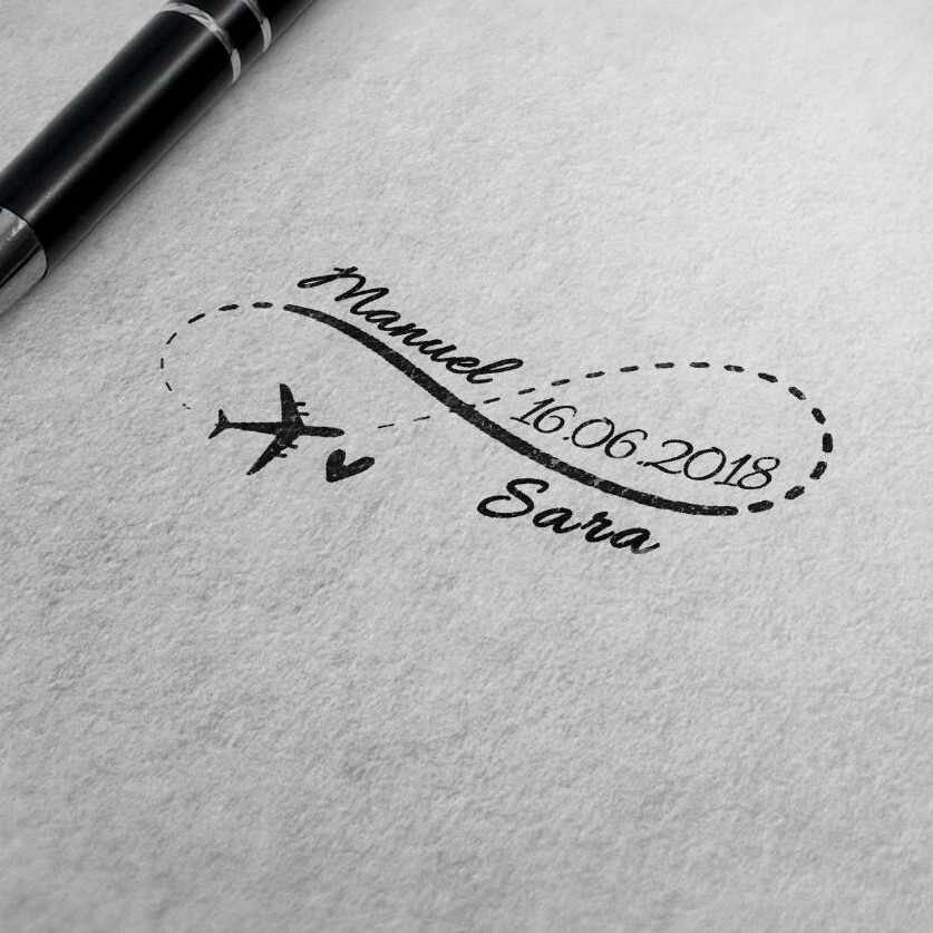 Auto selo de Tinta para convite de casamento selo personalizado endereço envelope Retângulo 31x41mm selo personalizado