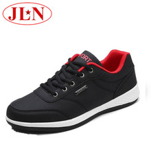 Men Casual Shoes Spring Autumn Flat Shoes Lace-up Action Leather Men Footwear Lightweight Comfortable Quality Shoes For Male