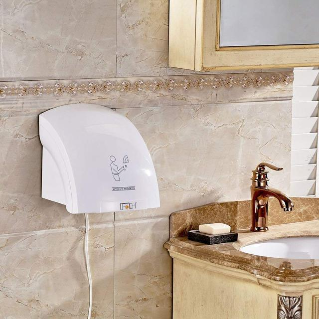 Automatic Infared Sensor Hand Dryer Hands Drying Device Household Hotel Commercial Use