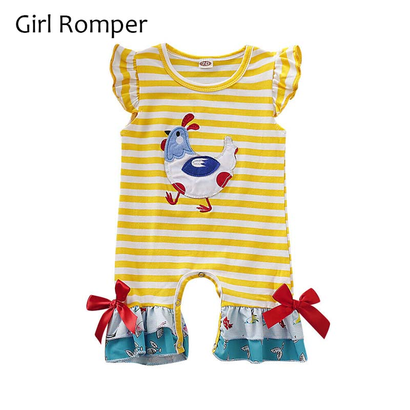 Big//Little Sister Brother Matching Baby Girl Boy Tops Romper Dress Summer Outfit