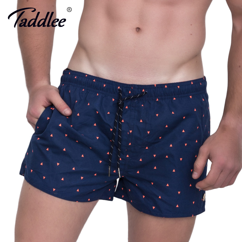 Taddlee Brand Fashion Men's Boardshorts Beach Boxer Trunks Swimwear Swimsuits Sweatpants Active Jogger   Board     Shorts   Quick Drying