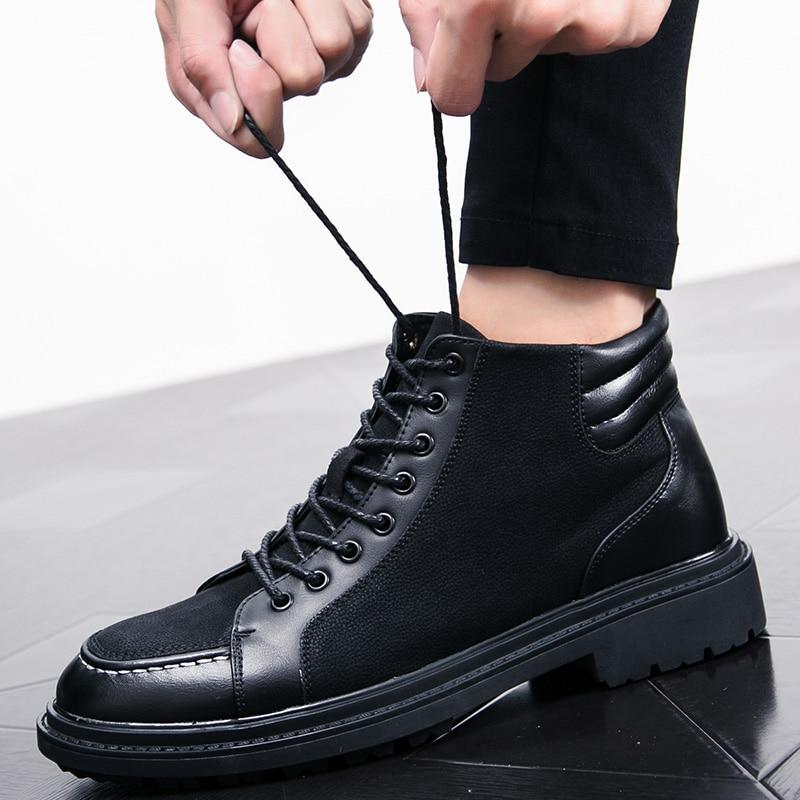 italian cool unique men motorcycle boots shoes luxury brand men's leather high top dress moccasins designer oxford shoes for men (38)