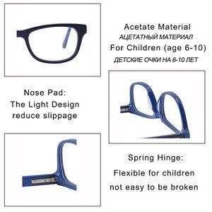 Image 5 - Kirka Optical Children Glasses Frame Acetate Glasses Children Flexible Protective Kids Glass Diopter Eyeglasses For 6 10 Years