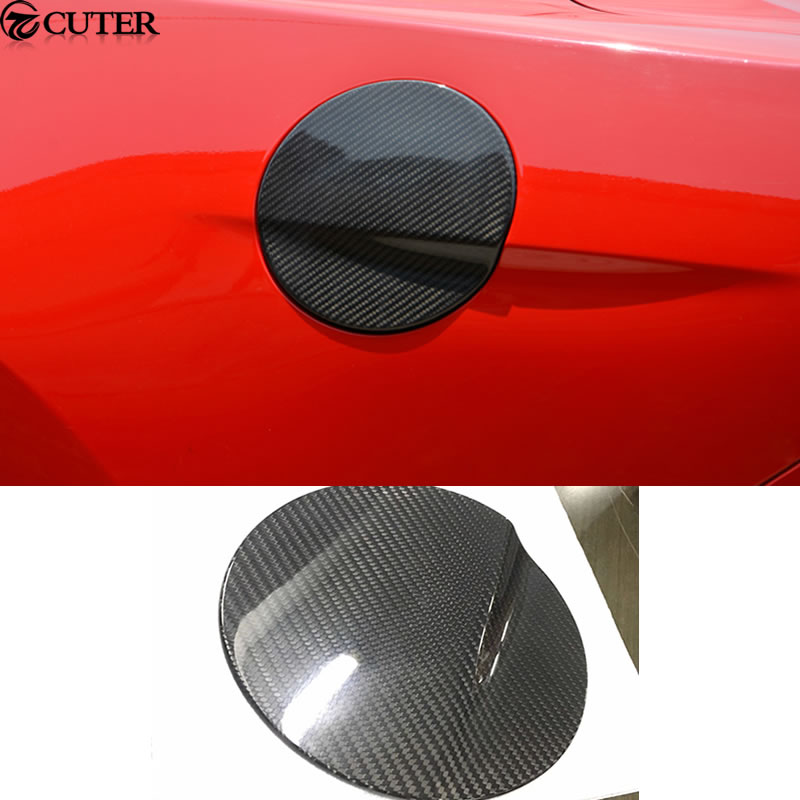 Carbon fiber Car body kit fuel tank cover for Ford Mustang 15-17Carbon fiber Car body kit fuel tank cover for Ford Mustang 15-17