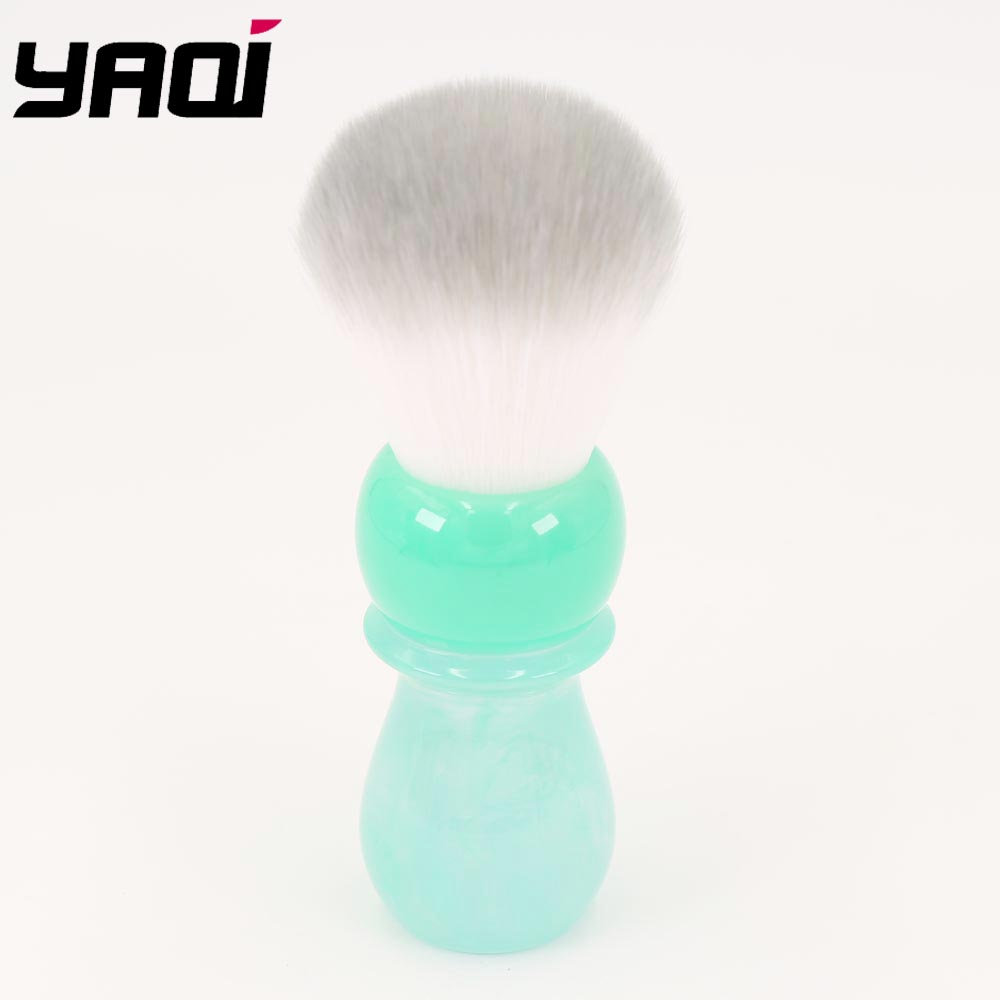 24MM Yaqi  Moutain Lake Caravel Arctic Synthetic Knot Shaving Brushes