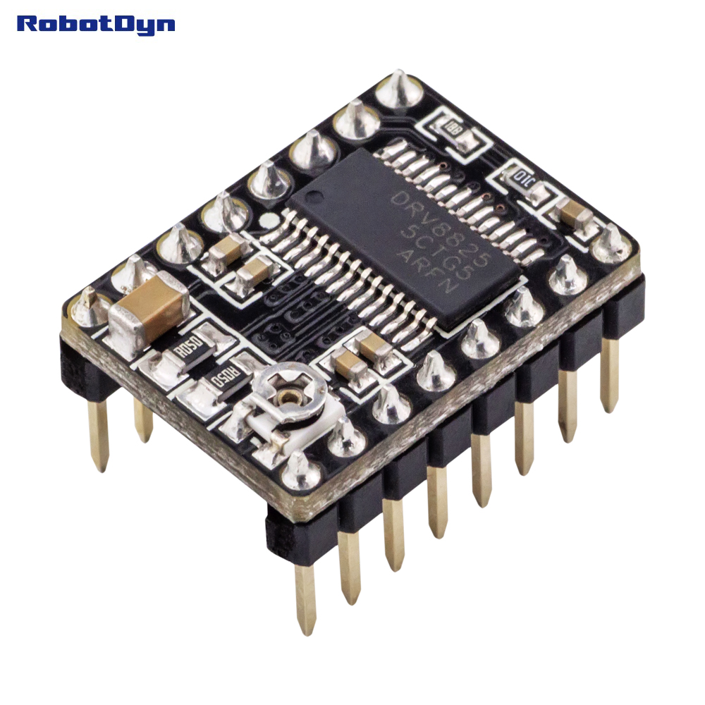 Drv8825 Stepper Motor Driver For 3d Printers In Integrated