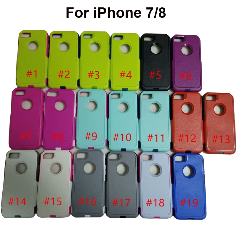 100pcs lot Rugger Armor Case For iPhone XR XS MAX Heavy Duty Armor Hard Case For