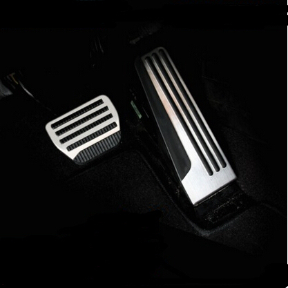 Car-styling stainless steel Accelerator Gas Brake pedal auto accessories case for Infiniti G Class Q50/Q50L/Q60/Q70L/QX50/QX70